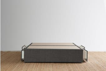 Maxwell's 4 Drawer Bed Base - Steel - Super King