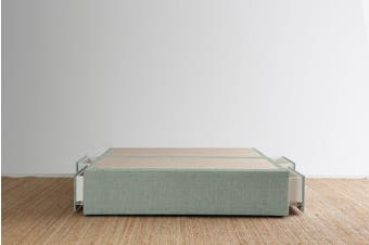 Maxwell's 4 Drawer Bed Base - Seafoam - Queen