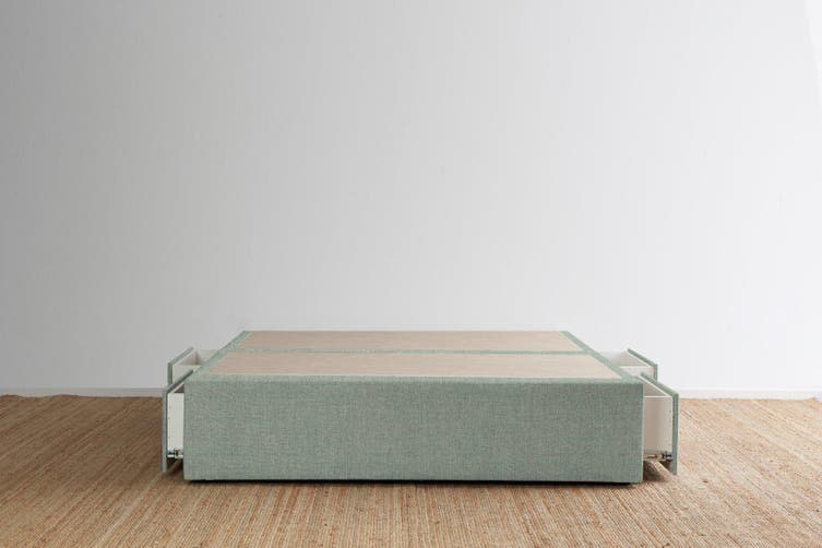 Maxwell's 4 Drawer Bed Base - Seafoam - Super King