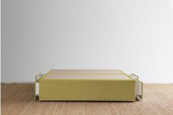 Maxwell's 4 Drawer Bed Base - Lemongrass - Super King