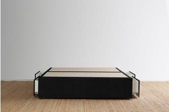 Maxwell's 4 Drawer Bed Base - Ebony - King