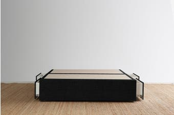 Maxwell's 4 Drawer Bed Base - Ebony - Super King