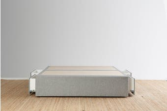 Maxwell's 4 Drawer Bed Base - Light Grey - Super King