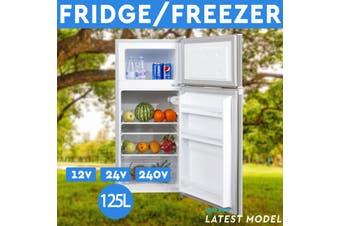125L Portable Freezer Fridge 12V/24V/240V Camping Car Boating Caravan Bar Fridge