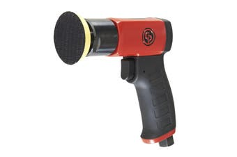 CP7201 Pistol Grip, Mini Disc Polisher, 75mm Hook & Loop Pad, 2500rpm