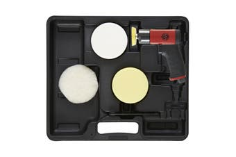 CP7201P Pistol Grip, Mini Disc Polisher CP7201 in a carry case incl. accessories