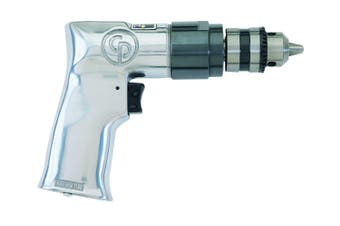 "CP785 Pistol Grip Drill 3/8"" 10mm Key Chuck Capacity Non Reversible 2400 rpm"