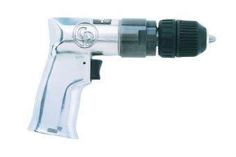 "CP785QC Pistol Grip Drill 3/8"" 10mm Keyless Chuck Non Reversible 2400 rpm"