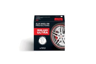 Red Rimblades Ultra Scuffs Alloy Wheel Rim Protectors / Guards / Tape 3M