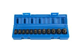 "12PCS 1/4"" Dr 6pt Metric Standard Magnetic Impact Socket 5mm - 15mm 6050P1201"