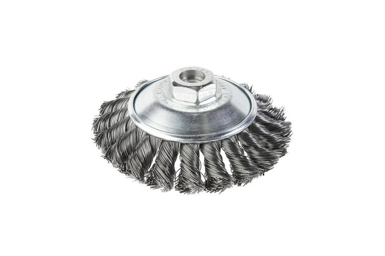 Twist Knot Bevel Dish Brush For High Speed Angle Grinder KV-44 4336442