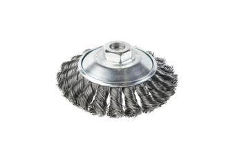 Twist Knot Bevel Dish Brush For High Speed Angle Grinder KV-54 4338442