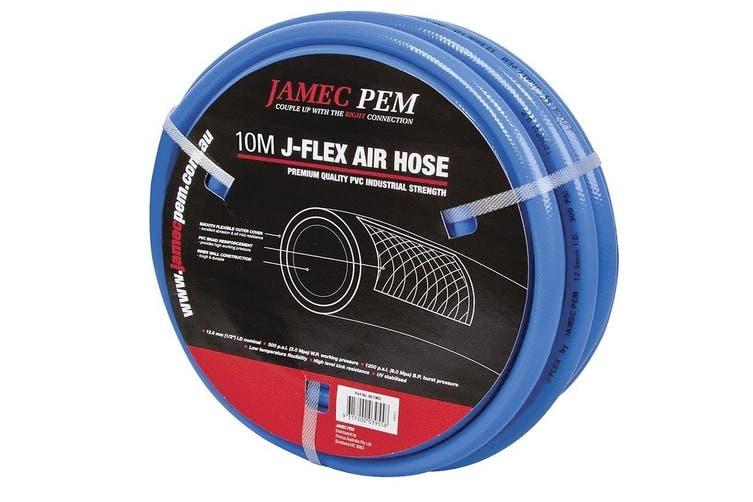 Jamec Pem PVC Reinforced Braided Air Hose 20m Nitto Fitting 56.1981