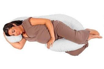 Baby Studio - Body Pillow with chevron grey pillow case