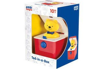 Ambi Toys - Ted In a Box Baby Activity Toy