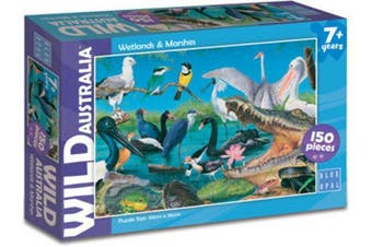 Blue Opal Wild Australia Jigsaw Puzzle Wetlands and Marshes 150 pieces