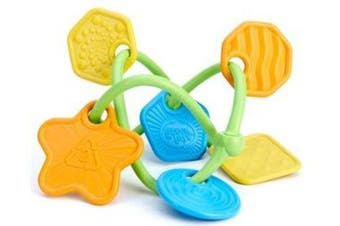 Green Toys Twist Teether 100% Recycled BPA free