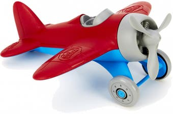 Green Toys Airplane - Red 100% Recycled BPA free