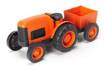 Green Toys Tractor - Orange 100% Recycled BPA free