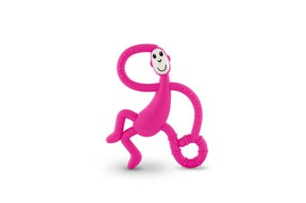 Matchstick Monkey Dancing Monkey Teether - Pink