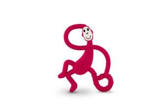 Matchstick Monkey Dancing Monkey Teether - Rubin Red