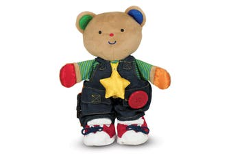 Melissa & Doug Teddy Wear Toddler Learning Toy