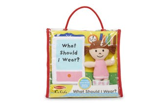 Melissa and Doug Soft Activity Book - What Should I Wear?