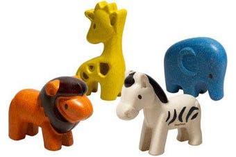 Plan Toys - Wild Animals Set