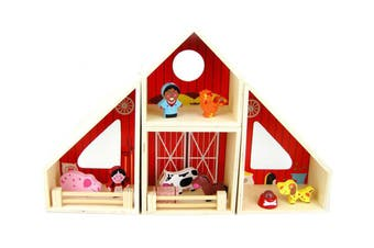 Kaper Kidz - Wooden Farm Barn Playset