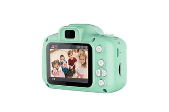 children Digital Camera,1080P FHD Digital Video Camera for Kids with 2 Inch Screen and 32GB SD Card,Rechargeable Camera for Boys Girls-Green