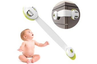 5Pack Child Kid Baby Safety Lock Proofing Cabinet Lock Adjustable Strap Latches to Cabinets,Drawers,Cupboard,Oven,Fridge,Closet Seat,Door,Window