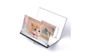 Mobile phone screen amplifier,Mobile Phone Screen Magnifier Eyes Protection Display 3D Video Screen Amplifier Enlarged Expander Stand Holder Bracket