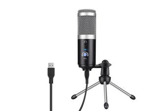 USB Computer Microphone-Plug and Play Computer filter for Skype,YouTube,Google voice search,games (Windows / Mac)