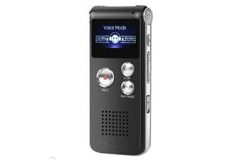 Digital Voice Recorder,Voice Activated Recorder for Lectures,Meetings,Voice Activated Recorder Digital Audio Recorder Mini Dictaphone with MP3 Player