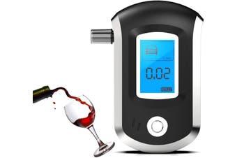 Portable Mini Alcohol Tester Alcohol Breathalyzer Semiconductor Professional Digital LCD Display