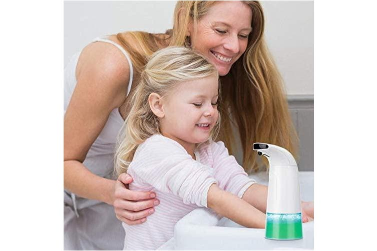 Portable Intelligent Automatic Induction Foam Washing Mobile Phone Infrared Induction Foam Soap Dispenser White