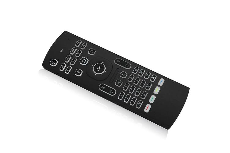 2.4G backlit air mouse wireless keyboard,mini PC smart TV Android TV box projector 6-axis somatosensory remote control motion sensing game infrared learning button