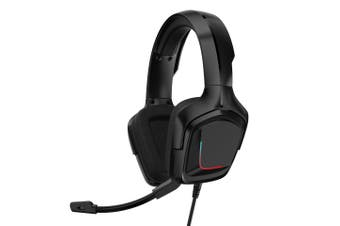 K20 3.5mm Wired Gaming Headset,Surround Sound Headphones Over Ear E-Sport Earphone with Mic Volume Control Mute Mic for PC Laptop PS4 Smart Phone