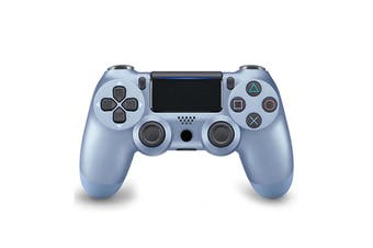 Double-Shock 4 Wireless buetooth Controller for PlayStation 4 - Titanium Blue