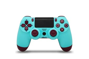 Double-Shock 4 Wireless buetooth Controller for PlayStation 4 - Berry blue