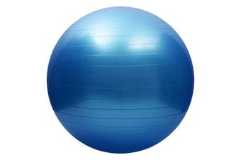 Yoga balance ball,Exercise Ball for Yoga,Fitness,Balance Stability,Extra Thick Professional Grade Balance & Stability Ball - Anti Burst,Workout Program - (Blue,55cm)