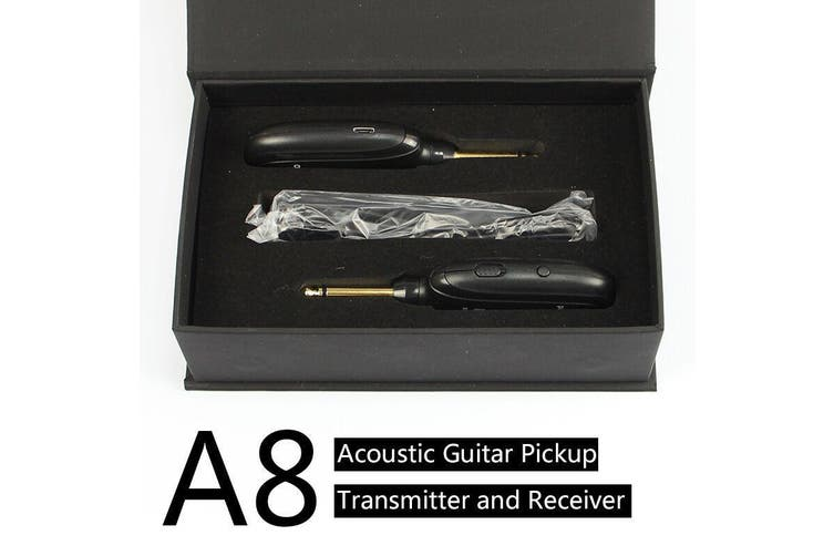 A8 Wireless Guitar System Electric Guitars Transmitter and Receiver Set
