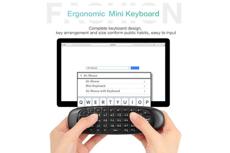 2.4G Air Mouse Wireless Keyboard Remote Control 6-Axis Motion Sensing for Smart TV Android TV BOX PC