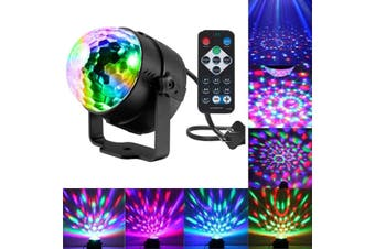 Party lights with remote control Dj lighting,RBG disco ball lights,strobe lights,stage lights,suitable for family dance,party,bar,karaoke,Christmas and wedding