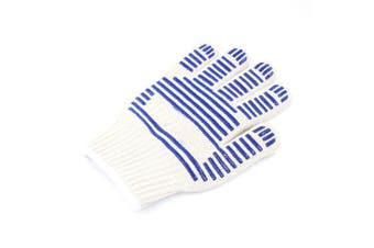 Heat Proof Oven Mitt Glove Cooking Kitchen Surface Heat Resistant Gloves for BBQ Baking
