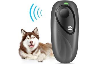 Ultrasonic Bark Control Device,Anti Barking Devices Variable Frequency Hand-held Stop Dog Barking Device,Dog Barking Deterrent Dog Behavior Training,Dog Repellent Barking Control Black