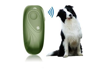 Ultrasonic Bark Control Device,Anti Barking Devices Variable Frequency Hand-held Stop Dog Barking Device,Dog Barking Deterrent Dog Behavior Training,Dog Repellent Barking Control Green