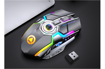 A6 wireless mouse rechargeable mute silent for gaming games