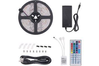 12V LED Strip Lights 5M 5050 300 LEDs Light Strip Flexible LED Night Light(44-keys)