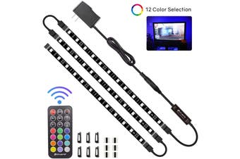 LED lights with waterproof IP65 300 LED lights with remote control 5m color changing RGB SMD 5050 rope lights suitable for KTV bedroom kitchen TV decorative lighting(24-KEYS,waterproof)